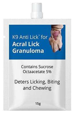 K9 Anti Lick - for acral lick granuloma
