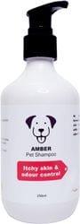 Amber Pet Shampoo (Itchy skin & odour control)