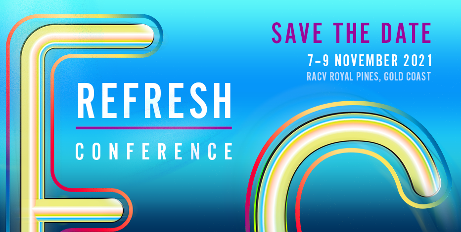 Save The Date Refresh Conference