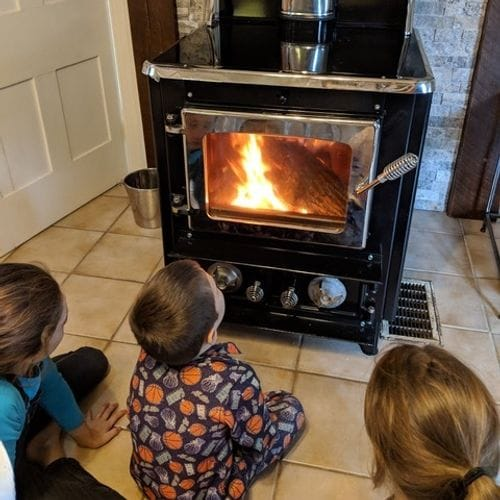 The Flame View Heater by Margin Stoves Ltd.