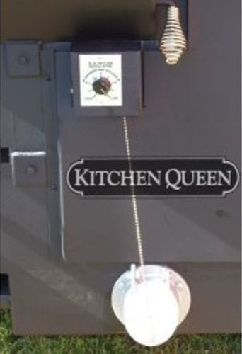 The Kitchen Queen 480 Wood Cook Stove