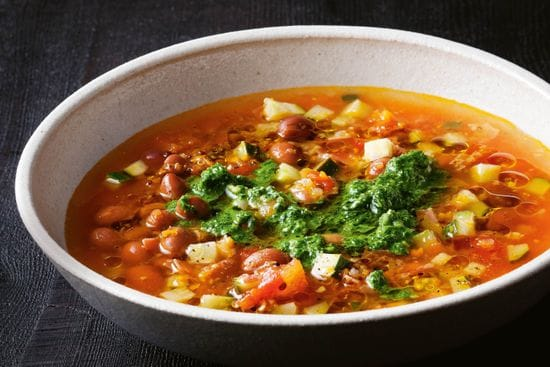 Lunch: Minestrone Soup