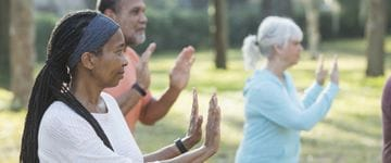 Tai Chi Mirrors the Benefits of Conventional Exercise in Adults with Central Obesity