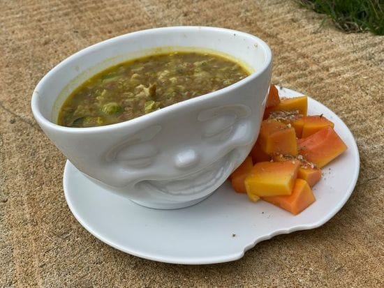 Super Quick Lentil Curry: Metabolic Balance Style