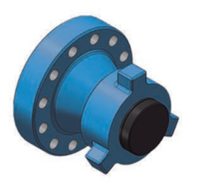 WECO FLANGE ASSEMBLY