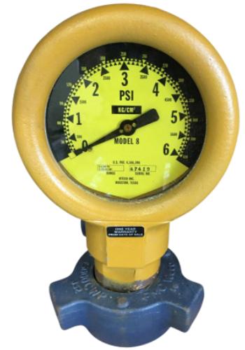 Pressure Gauge – Model 8 FIG 1502 End