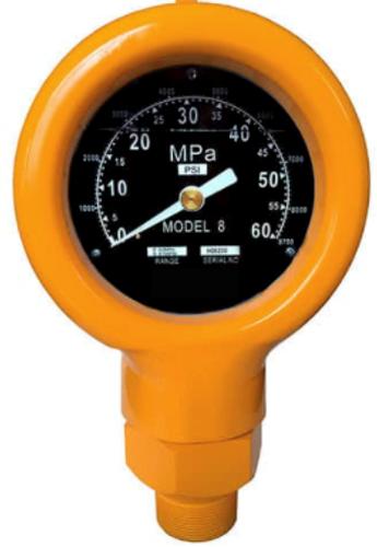 Pressure Gauge – Model 8 LP/NPT