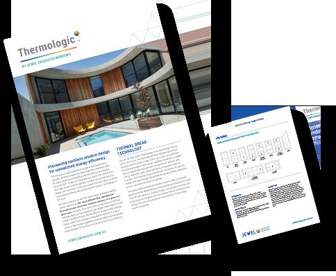 Jewel Sashless Windows - Thermologic brochure
