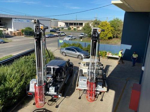 GT Series - Hydraulic Drill Rigs