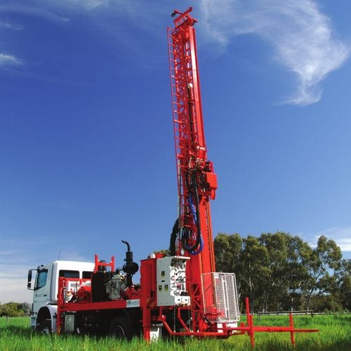 DE710 Heavy-duty Surface Core Drill Rig