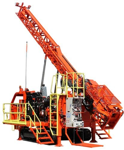 DE712 Heavy-duty Surface Core Drill Rig