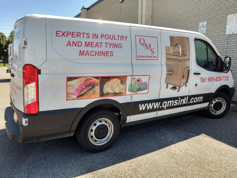 Véhicule de Service QMS - Experts en Machines à ficeler pour Viandes et Volailles