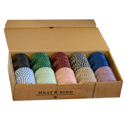 Henry Winning Q-1500BSBox Butchers No.5 String/Twine Selection Box - 10 reels