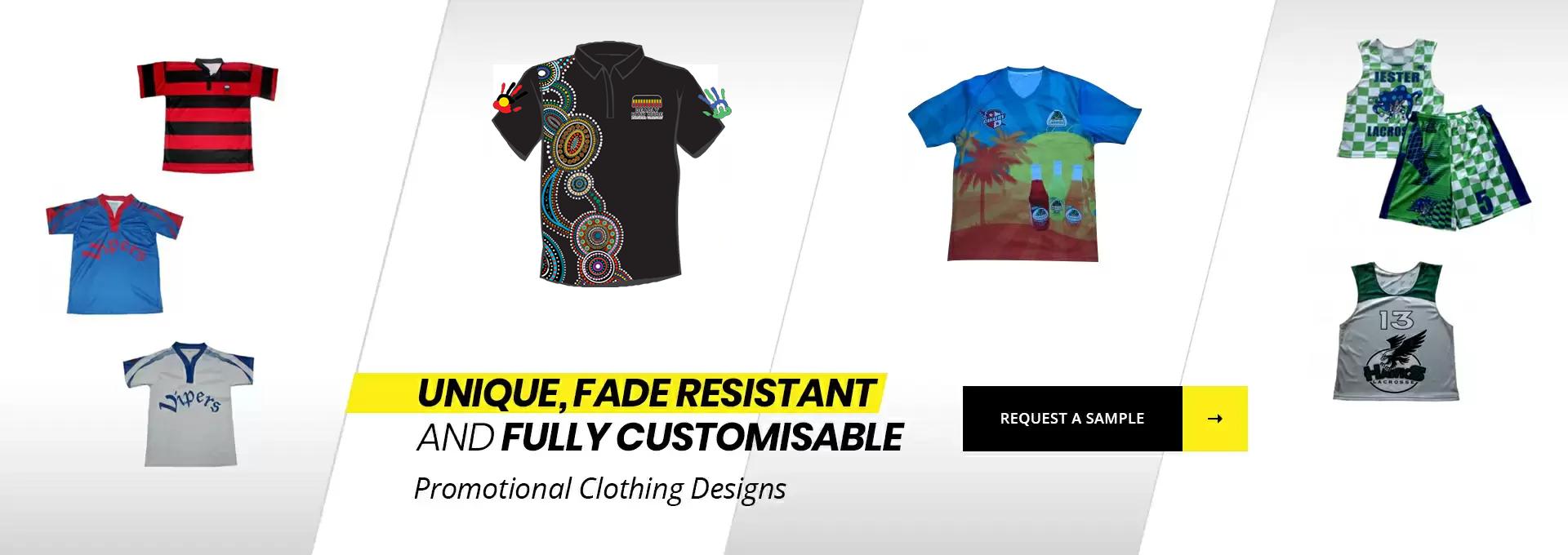 Custom Design Clothing | Promotional clothing designs