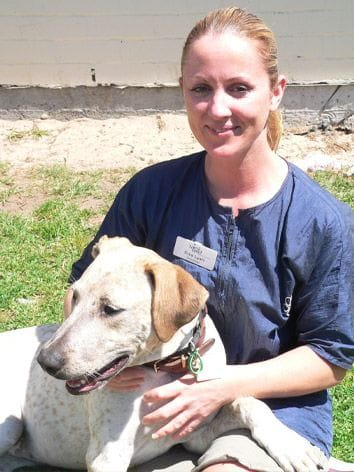 Clea, dog and cat groomer at North Road Veterinary Centre