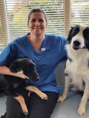 Ingrid, vet nurse at North Road Veterinary Centre