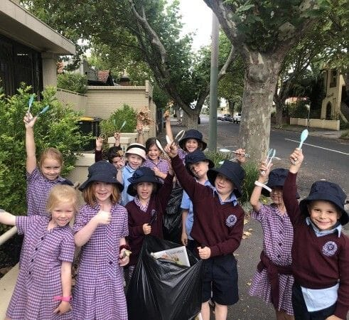 Youth and Schools Clean up Day
