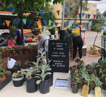 Green Team Plant Stall a blooming success!