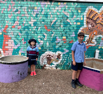 St Columba's awarded a 2021 Woolworths Junior Landcare Grant