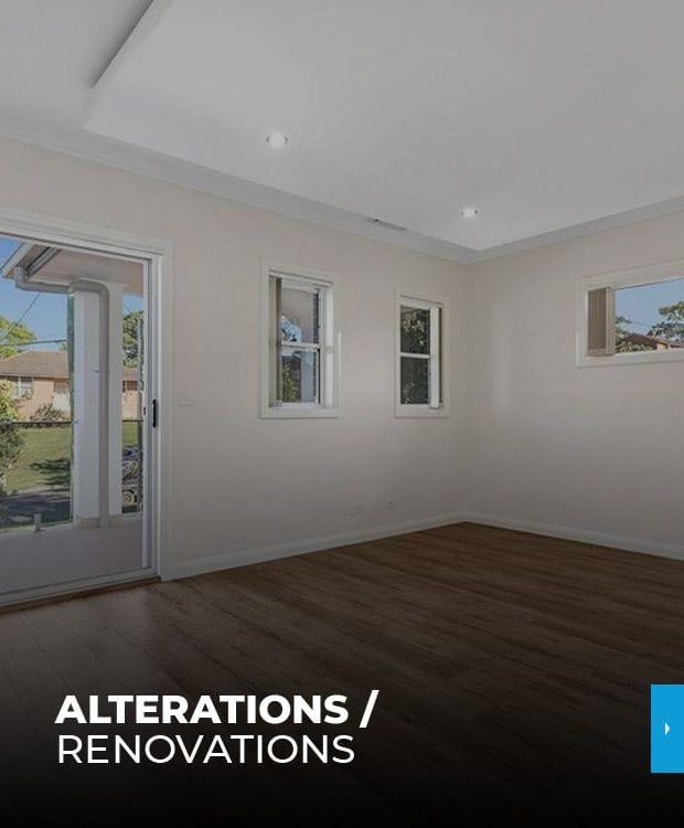 Alterations / Renovations
