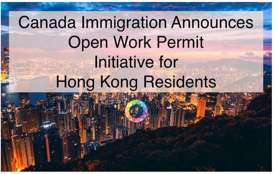 New Initiatives Announced by The Minister of Immigration Expediting Permanent Residency for Eligible Hong Kong Residents