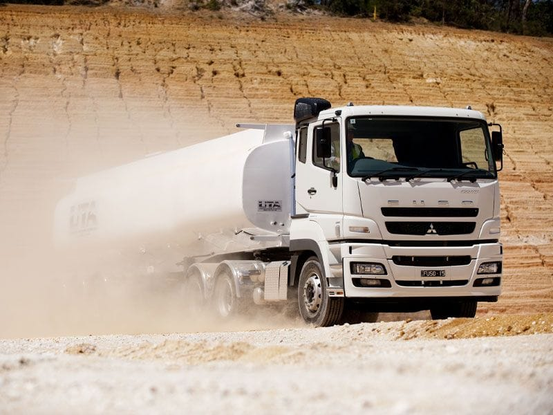 FUSO Heavy Duty In The Dirt| Daimler Trucks Wagga & Albury