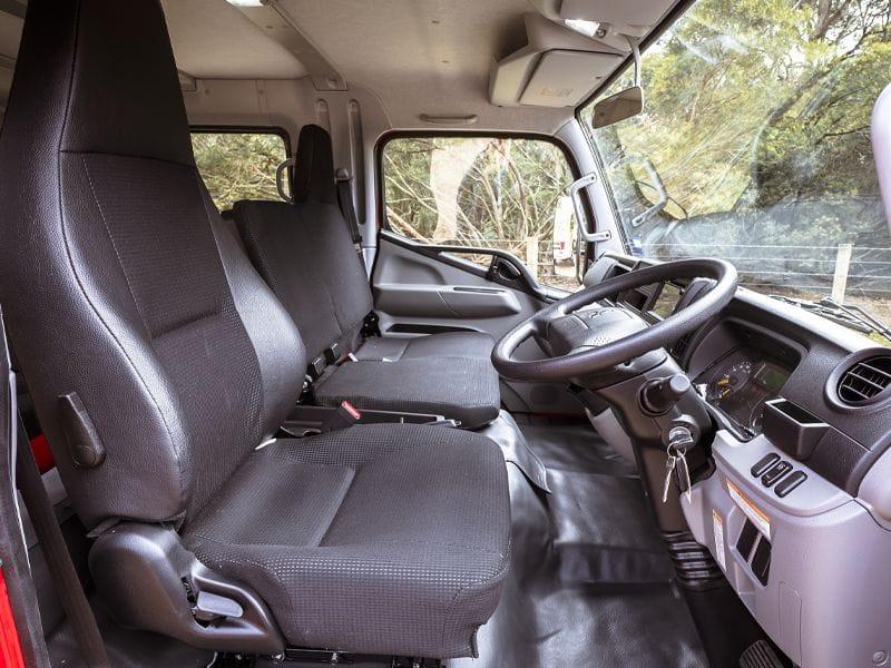 FUSO CANTER INTERRIOR SIDE VIEW | Daimler Trucks Wagga & Albury