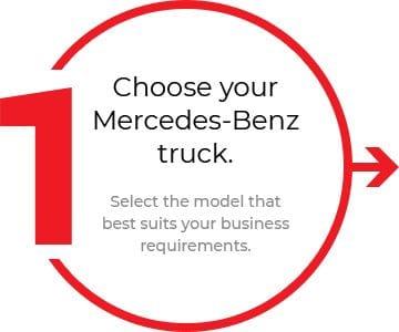 Choose your Mercedes-Benz truck.