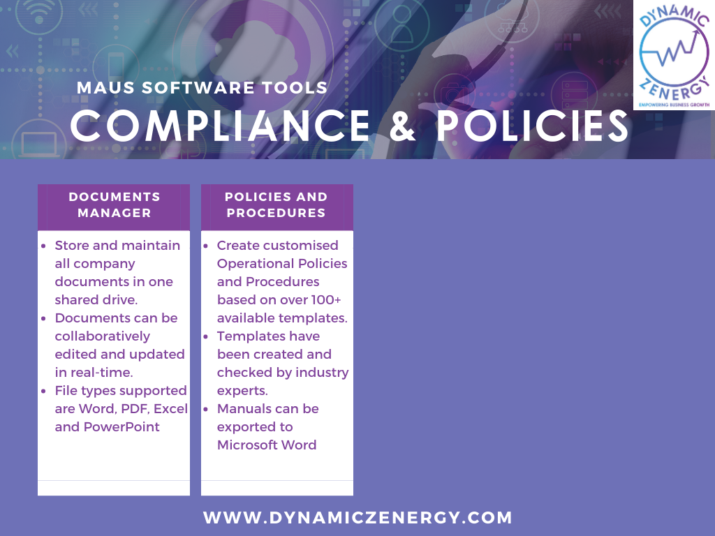 maus compliance and policies