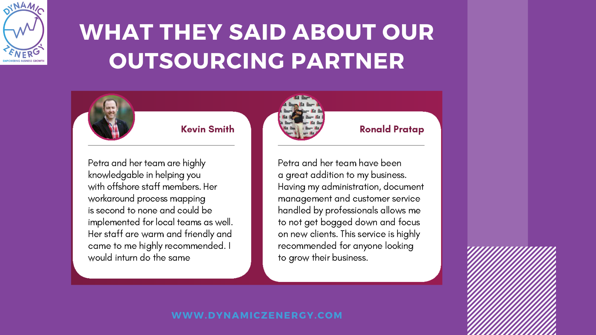 maus outsourcing partners testimonials