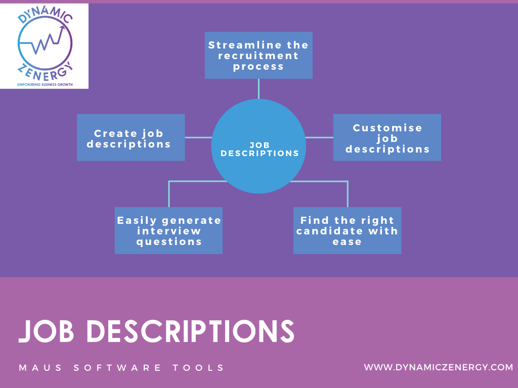 job description tool