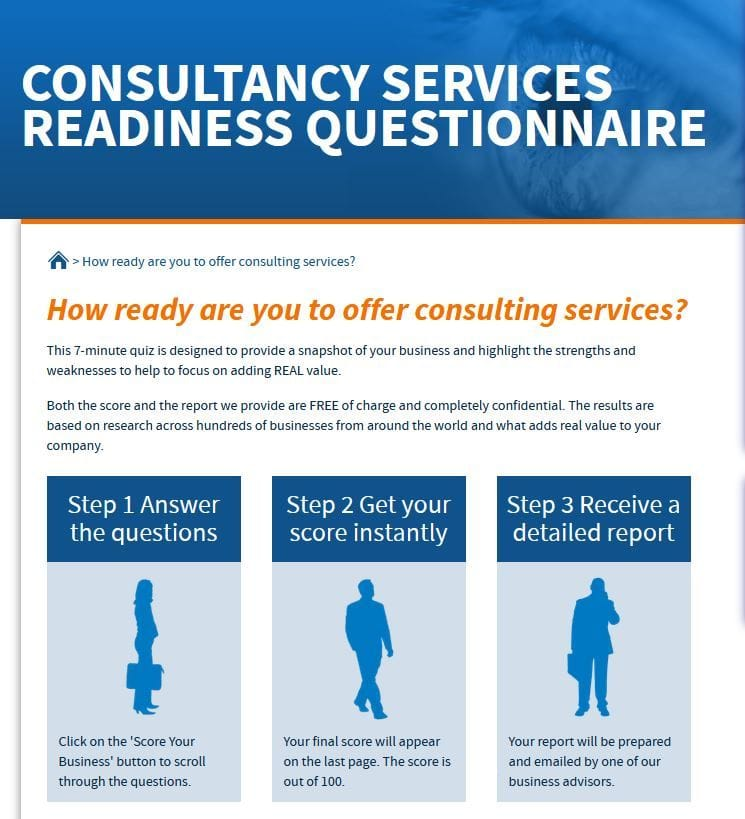 maus consultant readiness questionnaire