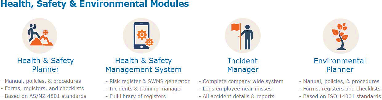 maus health and safety modules