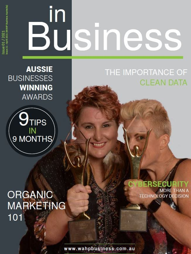 in Business Magazine April 2021 Issue