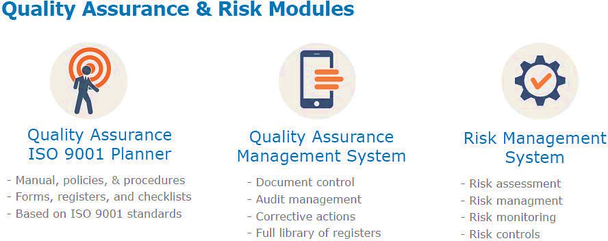 maus quality assurance and risk modules