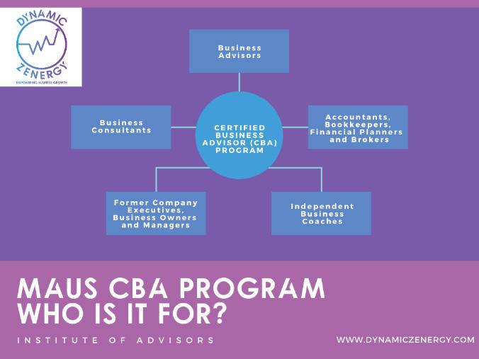 certified business advisor program