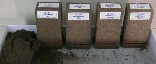 swiss soil test sample