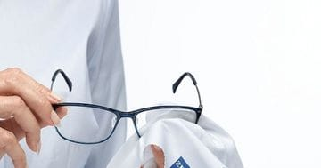 What's the right way to clean and treat your glasses?