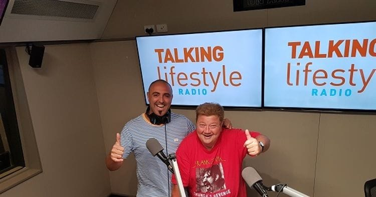 One-off gig leads to 20 years promoting eye health on radio