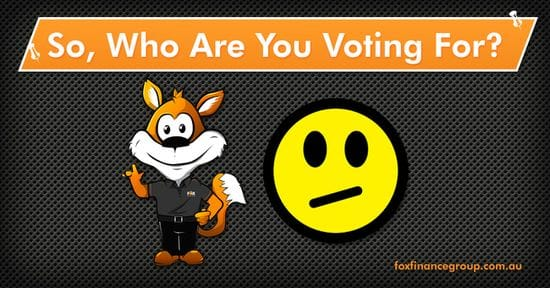 So, who are you voting for?