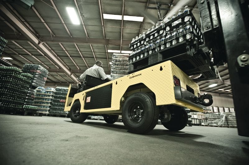 New Cushman Titan XD Leverages AC Electric Drivetrain, IntelliBrake Technology to Make Work Safer, More Comfortable and More Efficient