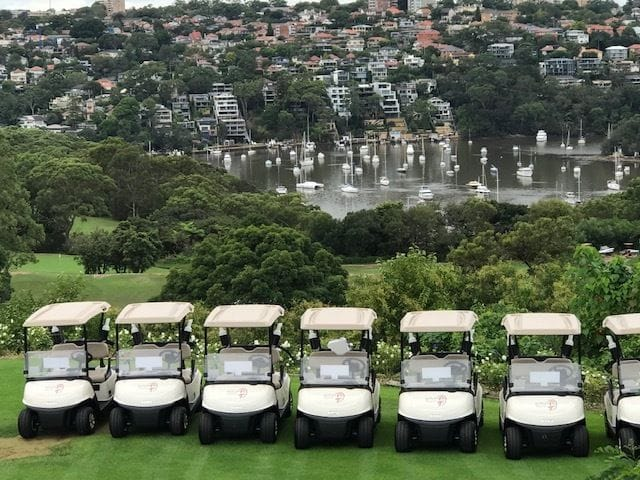 Northbridge Golf Club take delivery of their new fleet