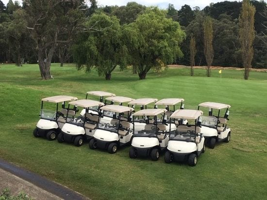 Leura Golf Club take delivery of their new RXV's