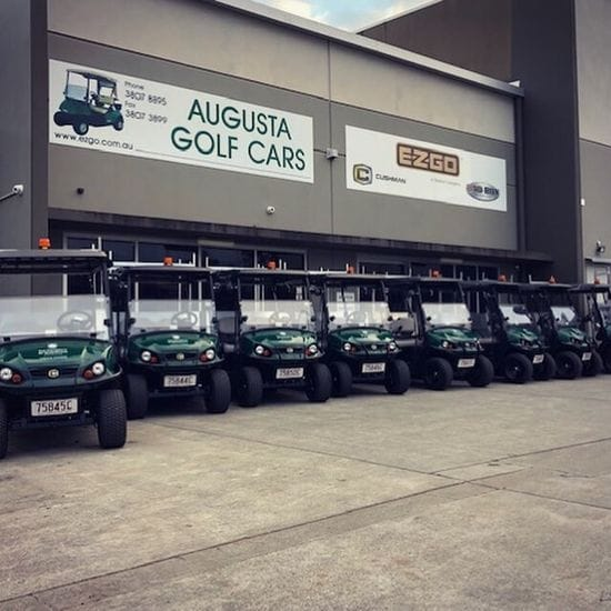 Creating Change - UQ take Delivery of their Fleet of Cushman Haulers