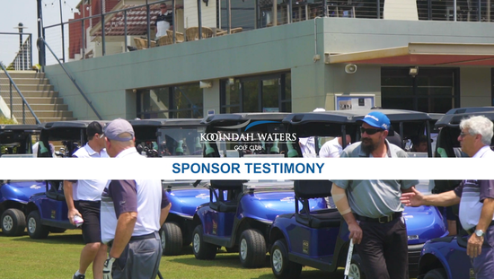 E-Z-GO Sponsors of the Central Connect Kooindah Waters Pro Am