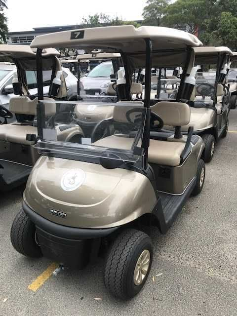 Eastlake Golf Club take delivery of their new fleet