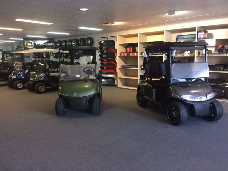Augusta Golf & Utility Cars Brisbane Office