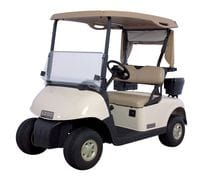2 Seat E-Z-GO Golf Cart - Petrol