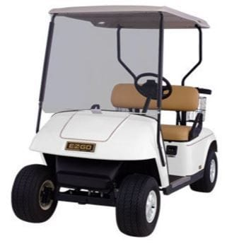2 Seat E-Z-GO Golf Car - Electric