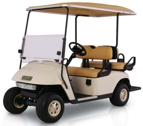 4 Seat E-Z-GO Golf Car - Electic (With Lights)